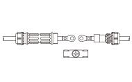接続ガイド付属単線式タイプ